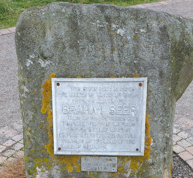 Brahan Seer Monument at Chanonry Point