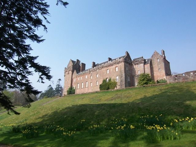 Brodich Castle on Arran