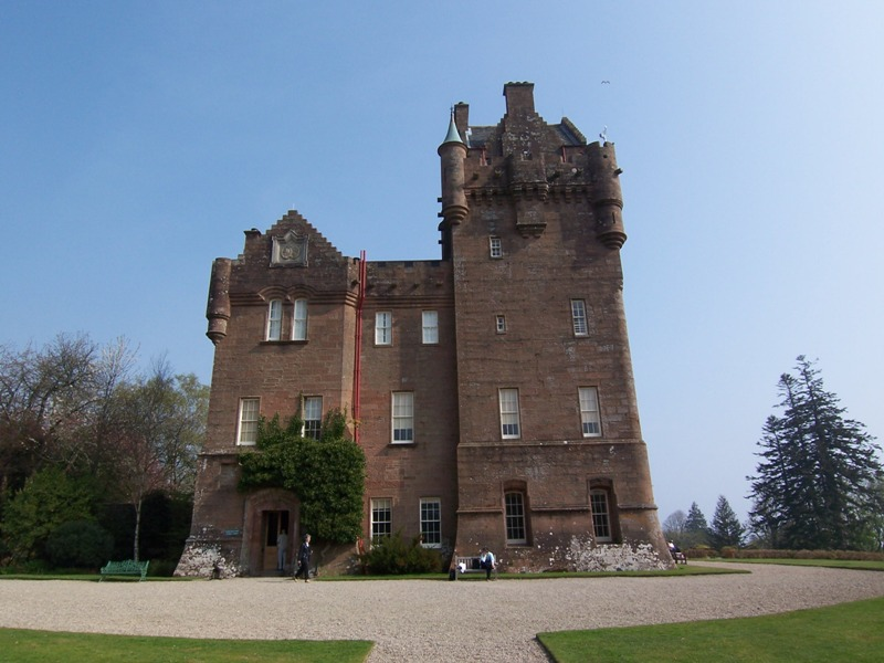Brodick Castle main entrance