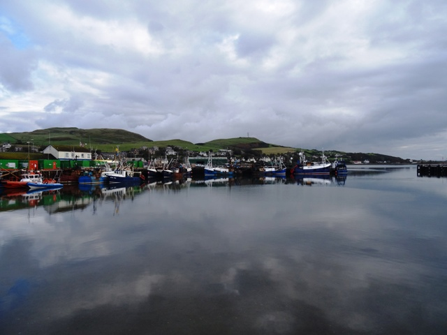 Fishing Boats in Campbeltown Harbour