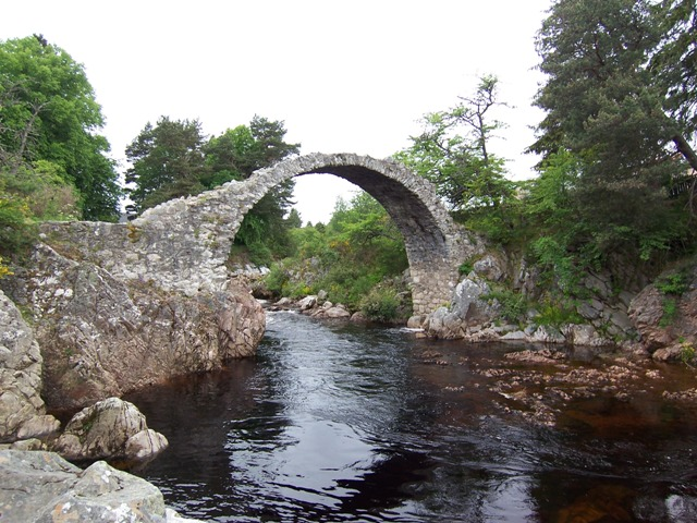 Packhorse Bridge at Carrbridge