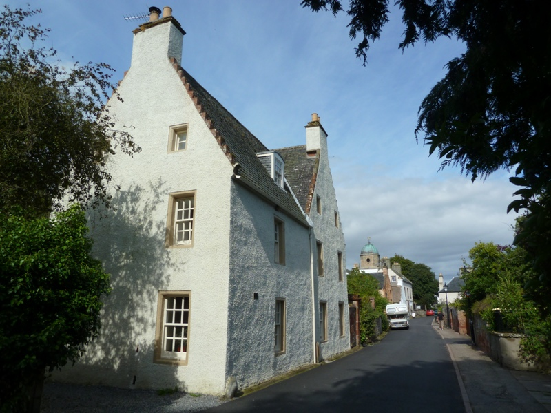 Charming house on Church Street in Cromarty