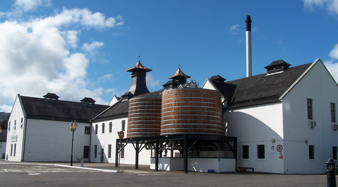 Dalwhinnie Distillery wooden cooling tanks