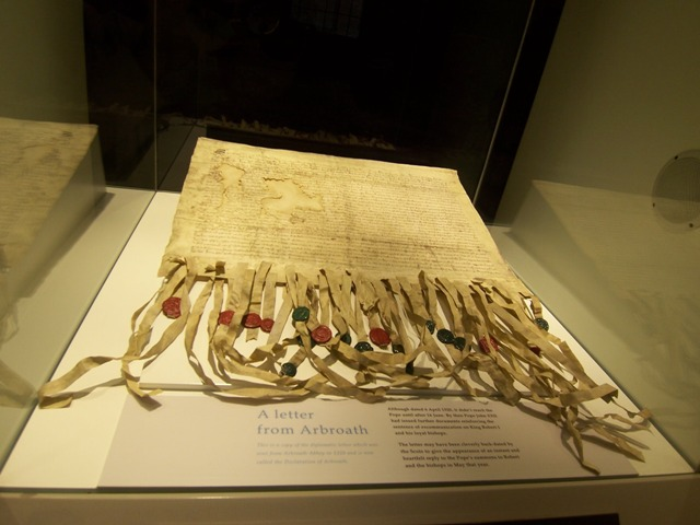 Copy of Declaration of Arbroath