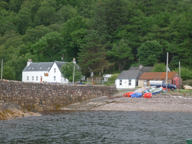Diabaig photographed from pier