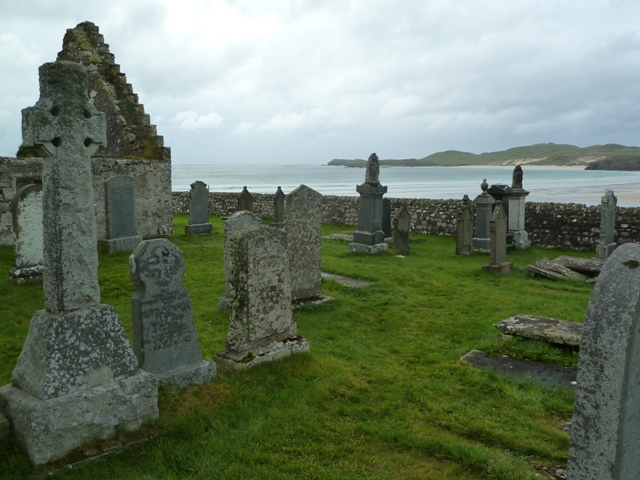 Durness Auld Kirk and Balnakeil Bay