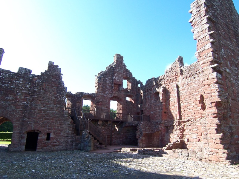 Courtyard of Edzell Castle