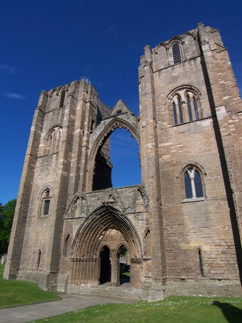 Elgin Cathedral Towers