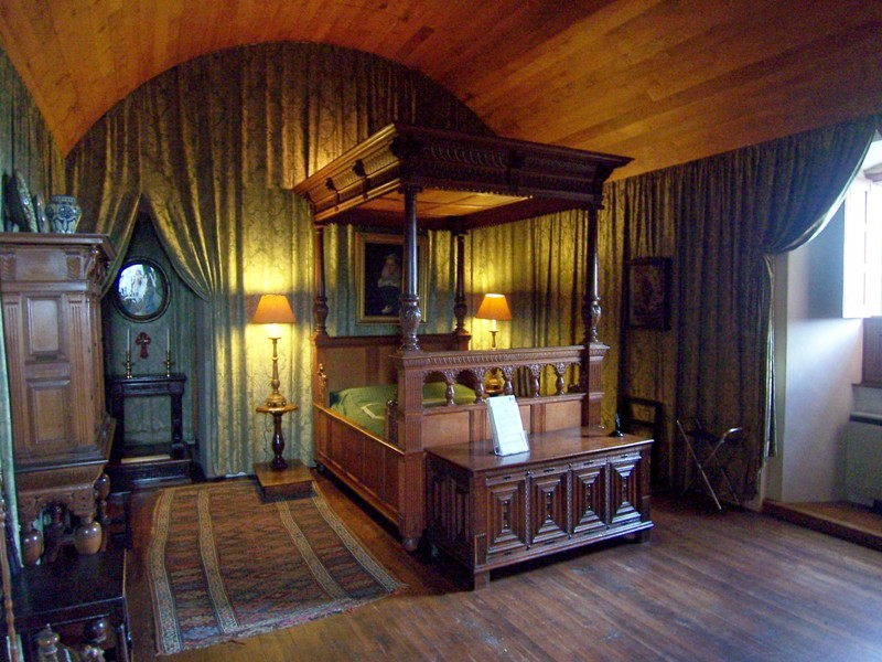 Mary Queen of Scots Chamber at Falkland Palace
