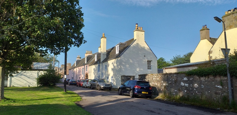 Fortrose picturesque back streets