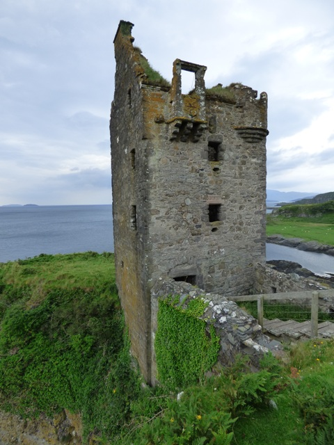 Gylen Castle on Kerrera