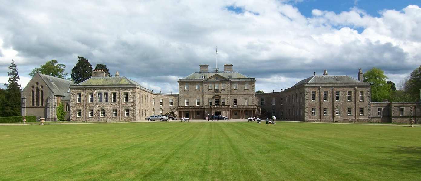 Haddo House panoramic shot