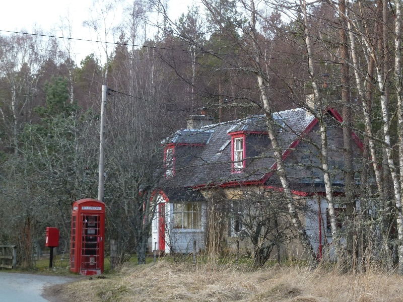Holiday Cottage in Scotland in Winter
