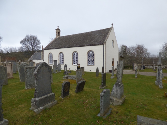 Inveravon Kirk and graveyard