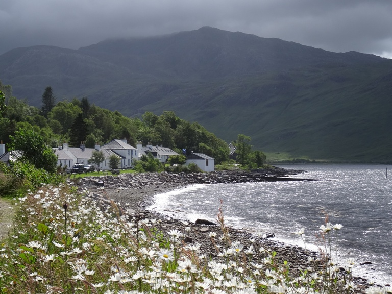 Inverie village in Knoydart