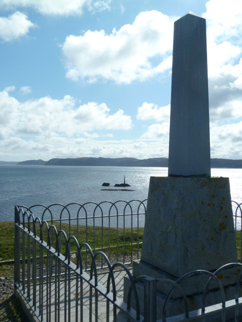 Iolaire Memorial, near Stornoway on Lewis