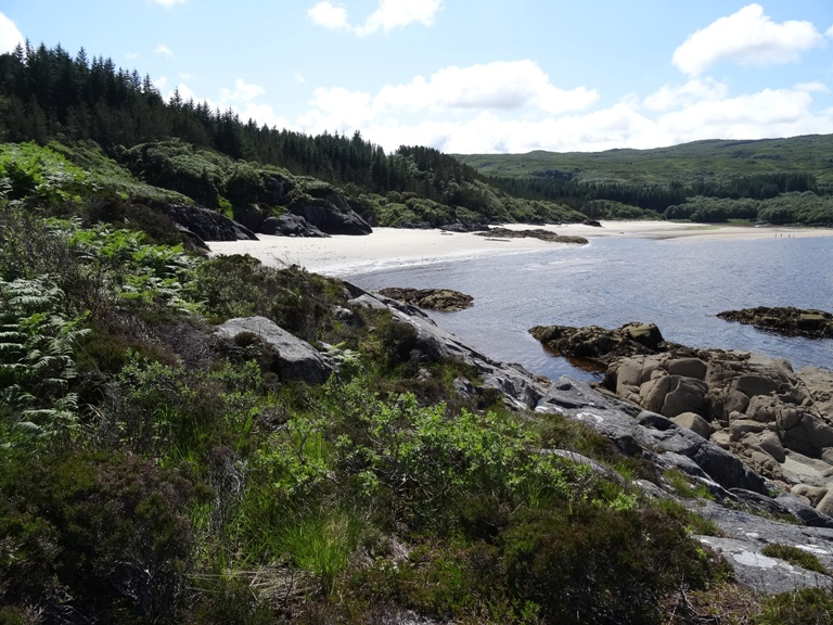 Kentra Bay(singing sands) in Moidart