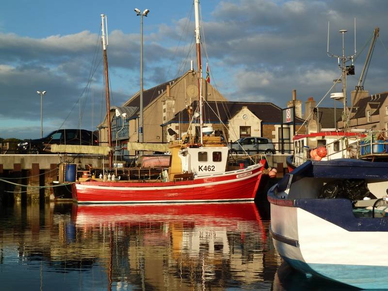 Kirkwall Fishing Boats