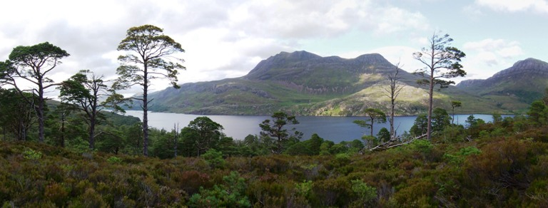 Loch Maree Panoramic view