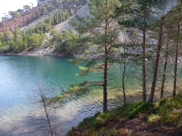 Lochan Uaine - the Green Loch where the fairies wash their clothes.