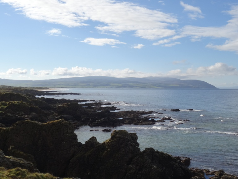 Looking south to Machrihanish Bay