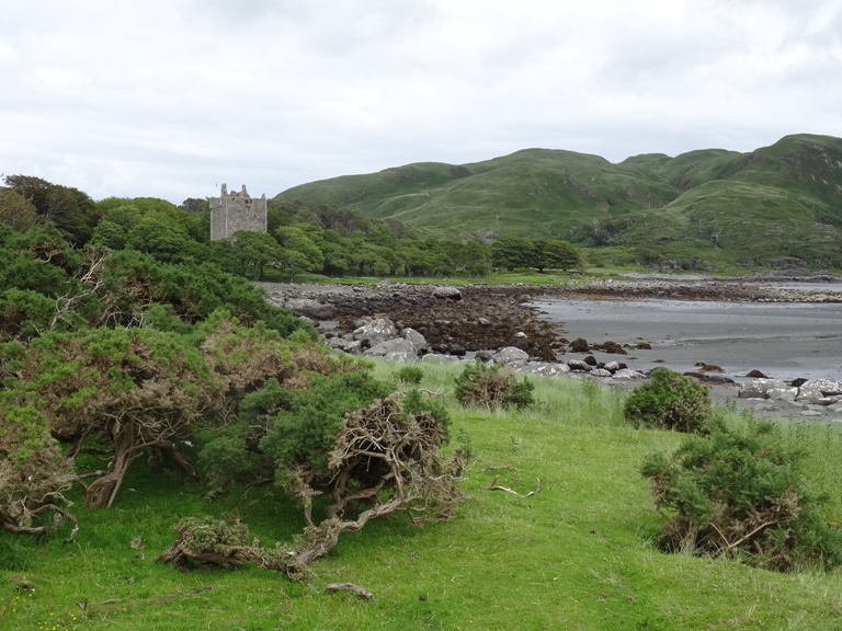 Moy Castle at Lochbuie