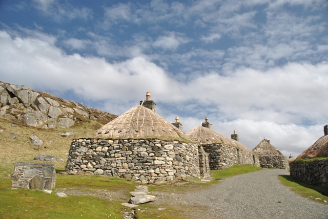 Na Gearrannan Black House village