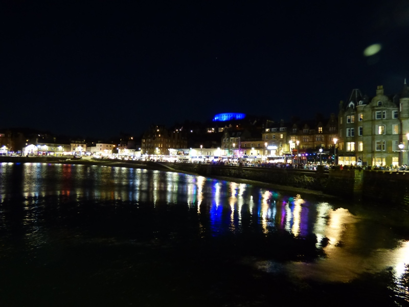 Oban lit up for Winter Festival