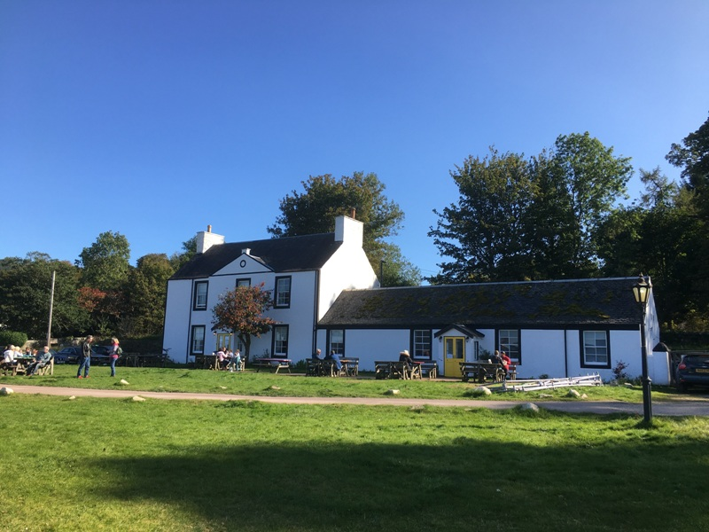 Oystercatcher Inn on Loch Fyne