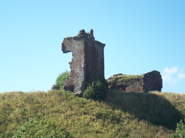 Ruins of Red Castle at Lunan Bay