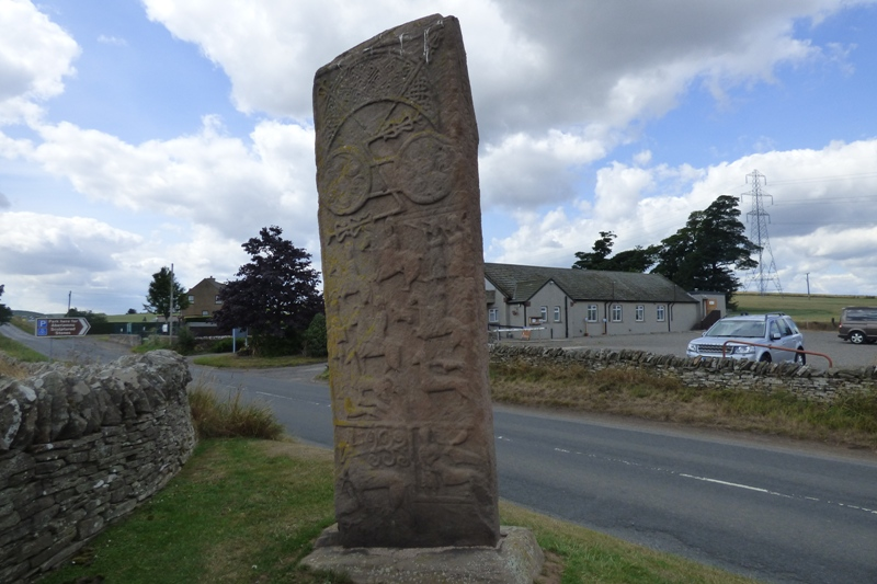 Aberlemno Roadside Cross back