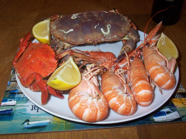 Fresh Scottish Seafood Platter