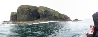 Staffa from the boat