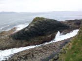 Geological formations on Staffa