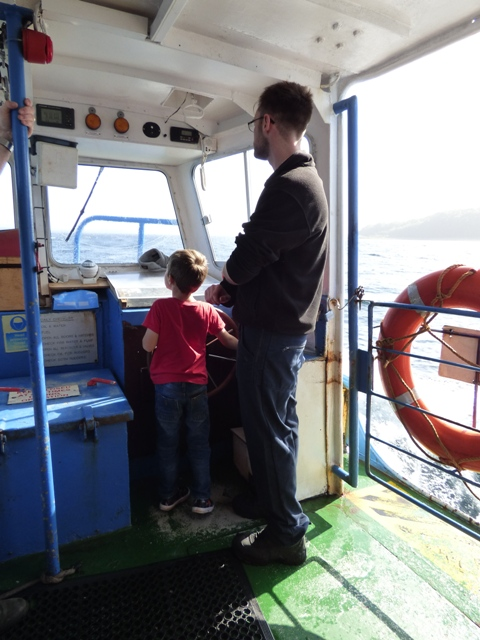 Captain of the Lismore Ferry