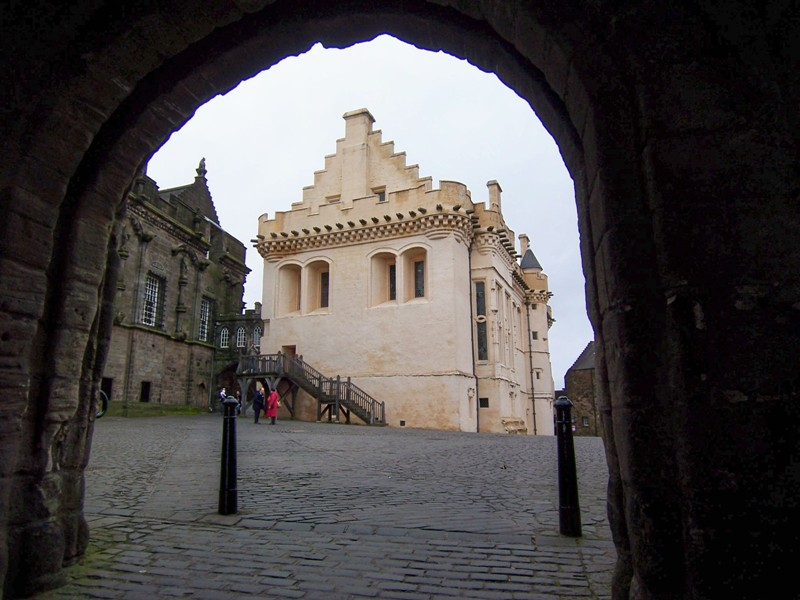 Stirling Castle Approach to Great Hall from Outer Close