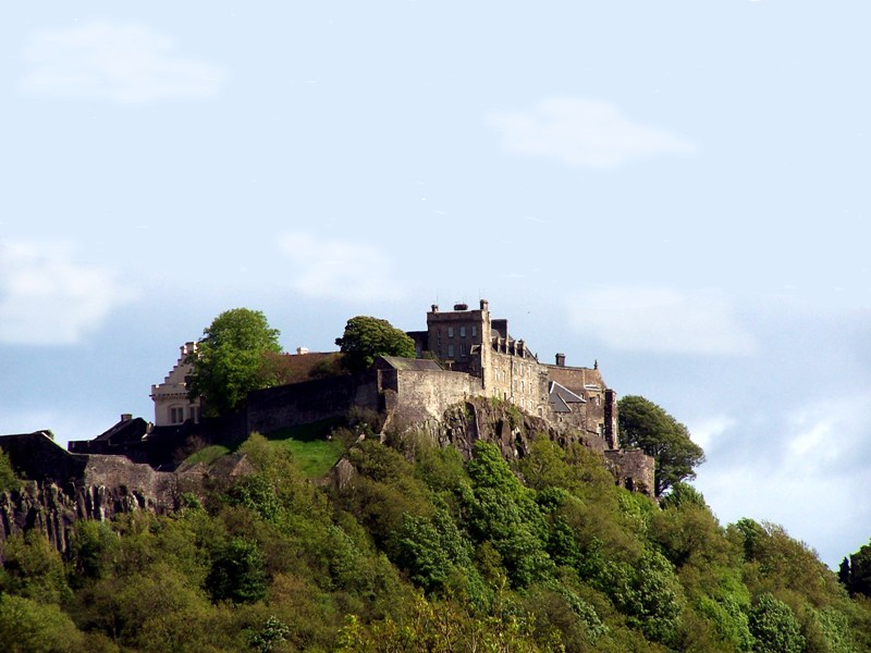 Stirling Castle viewed from King's Knot