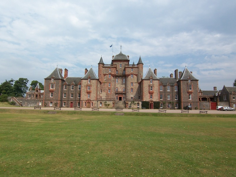Thirlestane Castle built in 1590 by John Mailtland