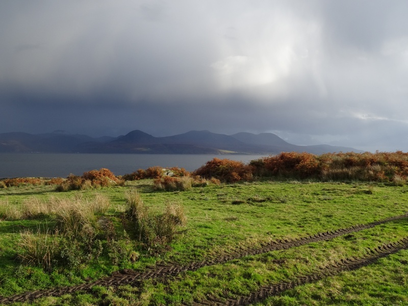 View of Arran from Kintyre