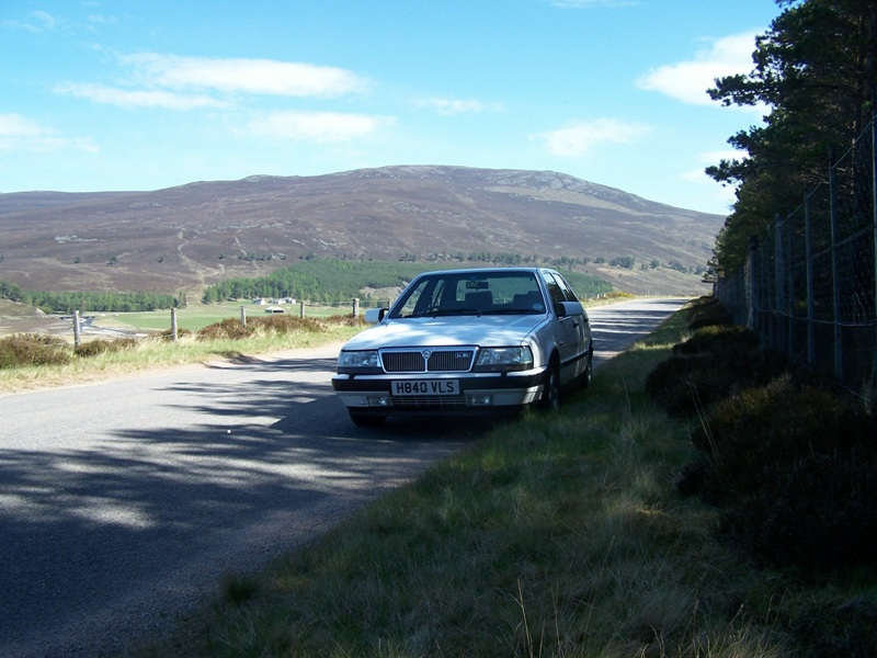 Old Faithful in the Cairngorms