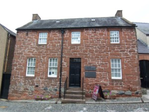 Burns House in Dumfries