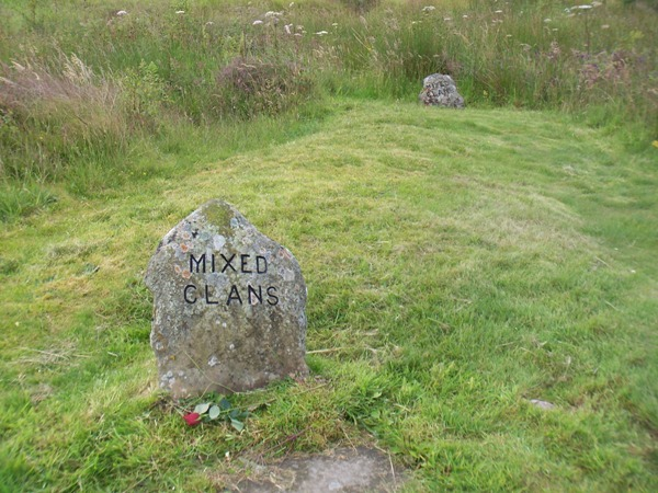 Clan graves on Culloden