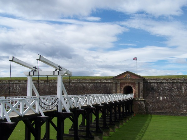 Fort George Main Gate