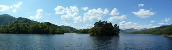 Loch Katrine panoramic