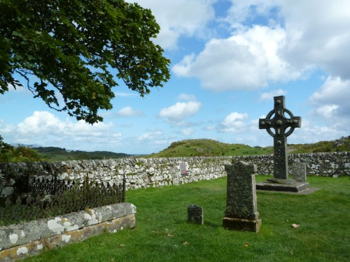 Celtic Cross at Kildalton Chapel, Islay