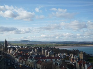 St Andrews from St Rules Tower