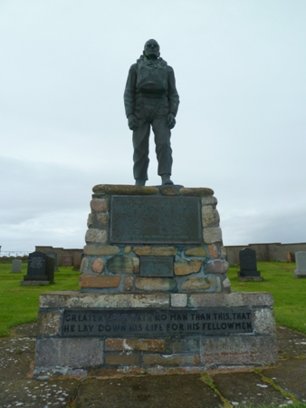 TGB Lifeboat Memorial - Isle of Hoy
